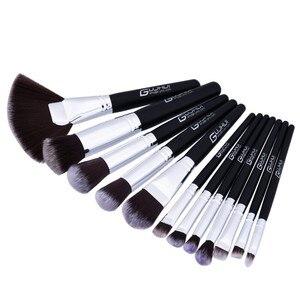 Профессиональная мягкая основа для волос румяна макияж кисти косметические инструменты 12 шт кисти для макияжа