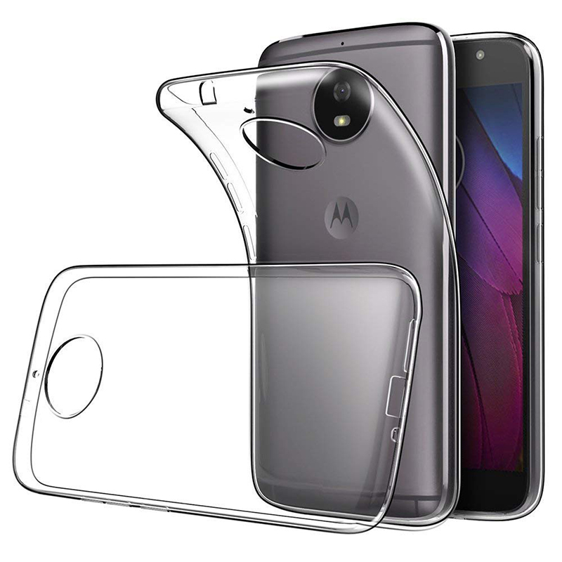 Phone Case For Motorola Moto G6 G7 Plus E4 E5 G4 G5 G5S G6 Plus G7 Power Z Z2 Z3 G4 E5 G6 G7 Play Transparent TPU Case