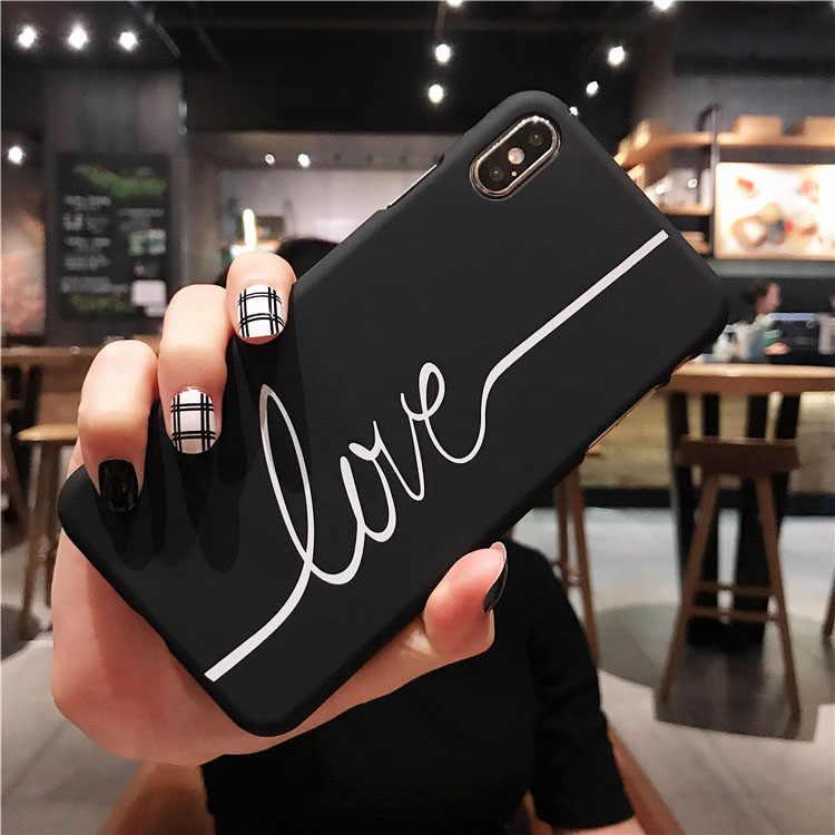 สำหรับCoque Iphone X 6 7 8 6 S 5 5s SeสำหรับFundas Iphone XR XS 11 pro Max 6 S 6 S 8 7 Plus SE 2020 ฝาครอบกรณีหัวใจรักกรณี