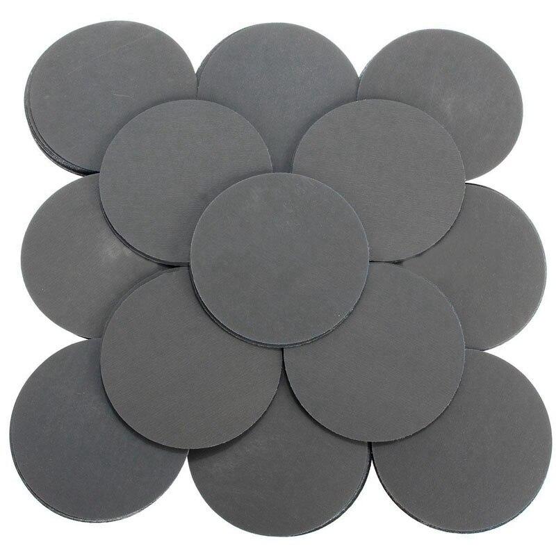 100 Pcs 3000 Grit Sanding Disc 3 Inch Paper Polishing Pads Sandpaper for Abrasive Tools
