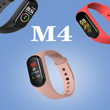M4 Smart band 4 Fitness Tracker Watch Sport bracelet Heart Rate Blood Pressure Smartband Monitor Health Wristband PK mi band 4 m4 smart band wristband fitness tracker watch sport bracelet heart rate monitor smartband health wristband pk mi band 4 3