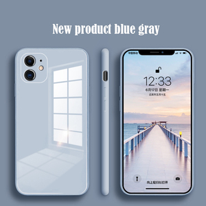 Liquid silicone all-inclusive shatter-resistant glass mobile phone case for iPhone11Pro Max SE 2020 XR XS Max X 8 7 6 PLUS