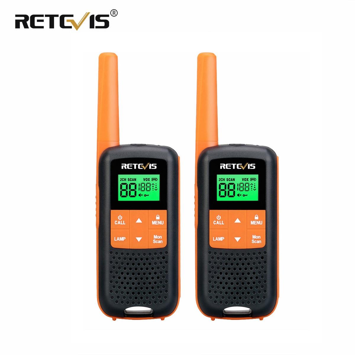 Портативная рация Retevis RT649/RT49 2 шт. IP65 водонепроницаемые рации для охоты UHF PMR446 FRS аварийная двухсторонняя рация портативная