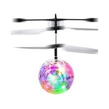 Красочные Подвески мяч индукции самолет индукции хрустальный шар летающий шар Индукционная плавающая игрушка