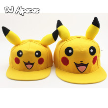 Anime Pokemon Pocket Monster Pikachu Cosplay Leinwand Baseball Kappe Straße Reise Hüte Caps Hut Frauen Mädchen Kawaii Demo Sonnencreme(China)