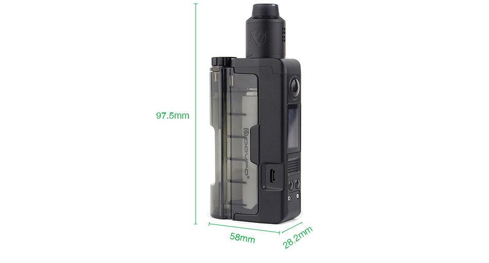 Dovpo Topside Lite 90W Squonk TC Kit with Variant RDA