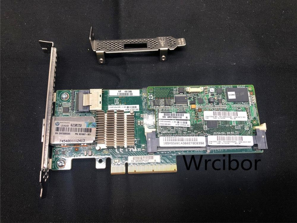 HP Smart Array P222 6GB/s 512MB Cache PCIe SAS Controller 633537-001