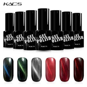 KADS 9.5ml 6pcs/pack Cat Eye Nail Gel Polish Manicure Cat Eye Gel UV LED Kit Varnish Nail Polish Long-Last Manicure Varnish 1