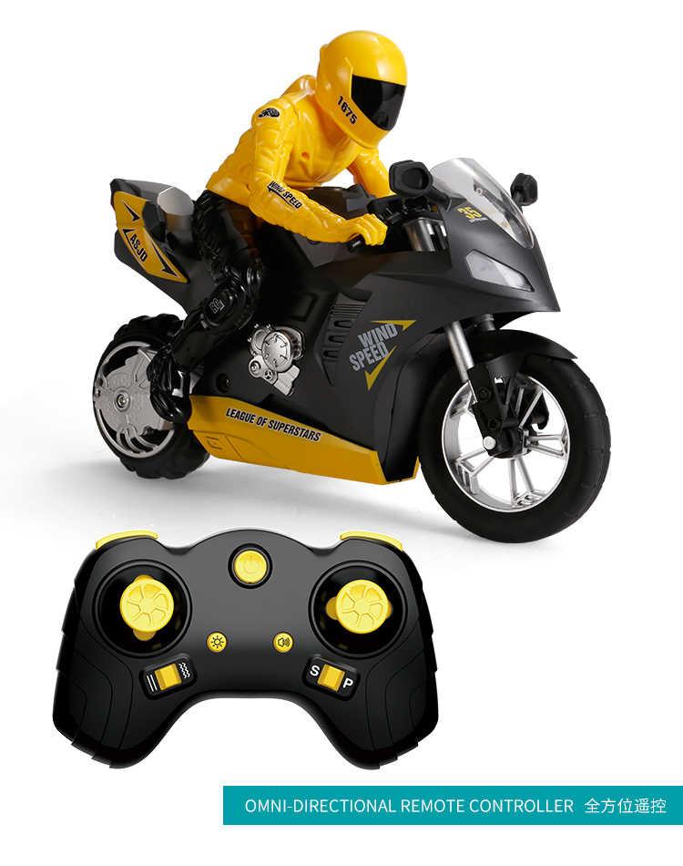 1:6 Big RC Moto dzieci motocykl elektryczny pilot RC samochód 2.4Ghz efekt świetlny efekt do motocyklu wyścigowego zabawki chłopięce dla dzieci
