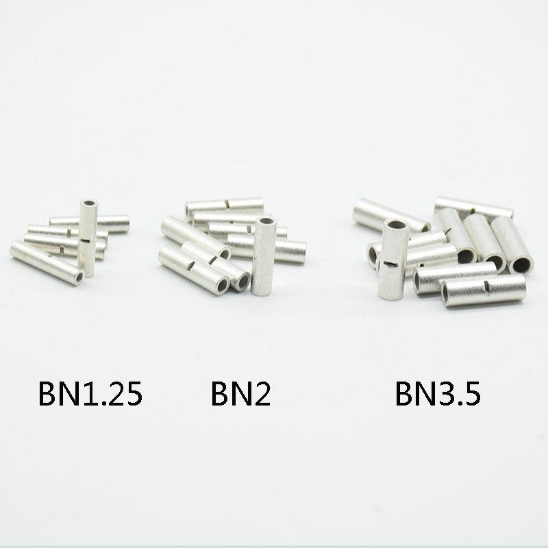 Обжимной соединитель для стыковой проволоки, обжимной Соединитель с медным луженым наконечником, деталь 22-10, BN1.25/2/3, 5, 20 шт.