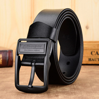 [DWTS]men belt male high quality leather belt men male genuine leather strap luxury pin buckle fancy vintage jeans free shipping 13