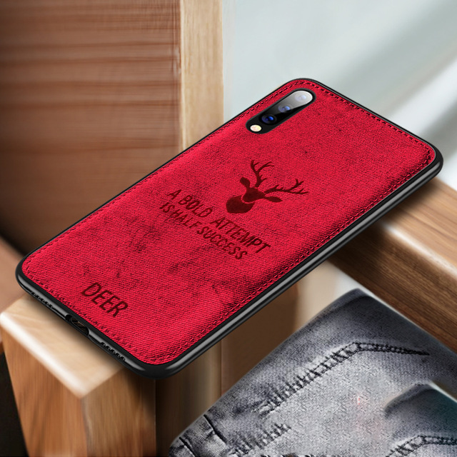 Shockproof Deer Cloth Cases For Xiaomi Mi 9SE 8 A2 Lite 6X 5X Pocophone F1 Redmi Note 7 Note 6 5 Pro S2 6A 5plus 4X Cover Coque