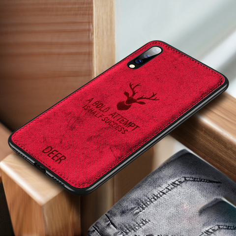 Shockproof Deer Cloth Cases For Xiaomi Mi 9SE 8 A2 Lite 6X 5X Pocophone F1 Redmi Note 7 Note 6 5 pro S2 6A 5plus 4X Cover Coque Pakistan