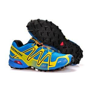 Salomon Speed Cross 3 CS III обувь для бега из сетчатого материала Мужская прогулочная обувь удобные спортивные кроссовки eur 40-46
