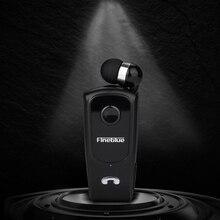 Fineblue F920 Bluetooth Earphone Wireless Mini Sports Clip Headset Noise Canceling Reduction Ear Phones Hifi Mic Black F980 F990