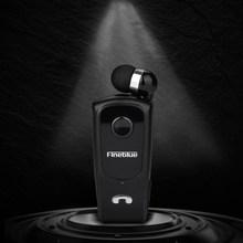Fineblue f920 bluetooth fone de ouvido sem fio mini clipe esportes fone com cancelamento ruído redução fones alta fidelidade mic preto f980 f990