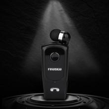 Fineblue F920 블루투스 이어폰 무선 미니 스포츠 클립 헤드셋 소음 감소 이어폰 Hifi Mic Black F980 F990