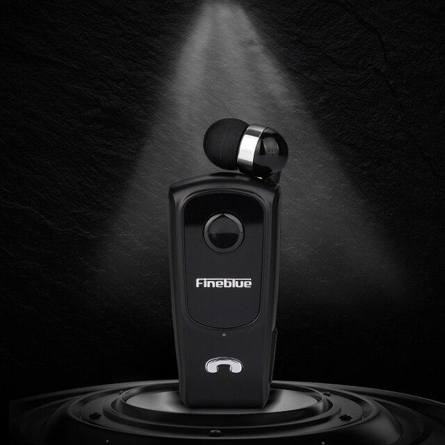 سماعة أذن بلوتوث Fineblue F920 سماعات رأس رياضية صغيرة لاسلكية للحد من الضوضاء سماعات أذن بميكروفون Hifi أسود F980 F990