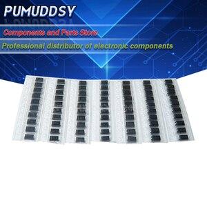 7 kinds*10pcs=70PCS SMD diode package / M1 (1N4001) / M4 (1N4004) / M7 (1N4007)/ M5 (1N4005) SS14 SS24 SS34 (1N5822) KIT