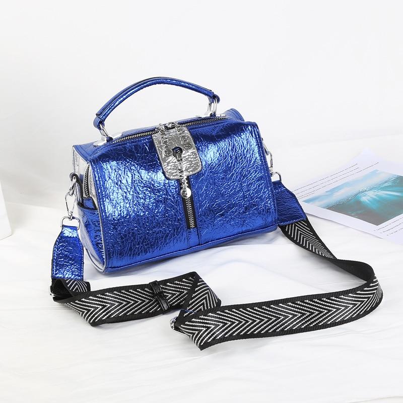 Bags for Women New Boston Women's Handbag Pu Leather Rivet Shoulder Bag Luxury Quality Handbag Women's Crossbody Bag Strap Bag