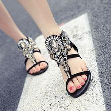 Bohemia Roman Style Summer Flats Comfortable Sandal Gladiator