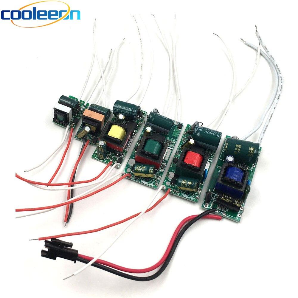 3W 5W 10W 15W 20W 25W 30W 35W Konstantstrom-led-treiber 100V 220V AC zu DC Converter Netzteil Transformator Bord 50/60hz