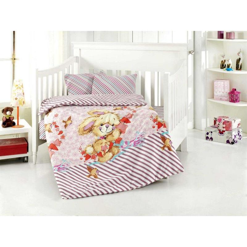 Фото - Bedding Set for baby ALTINBASAK, PAMUK, pink bedding set for baby altinbasak dream garden