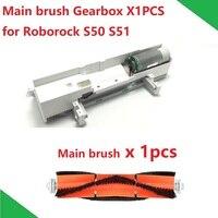 Robô aspirador de pó peças sobresselentes do motor da escova principal com conjunto habitação para xiaomi roborock s50 s51
