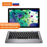 CHUWI Original Hi10 Air 10.1 pouces Windows10 tablette Intel Cherry Trail-T3 Z8350 Quad Core 4GB RAM 64GB ROM type-c 2 en 1 tablette