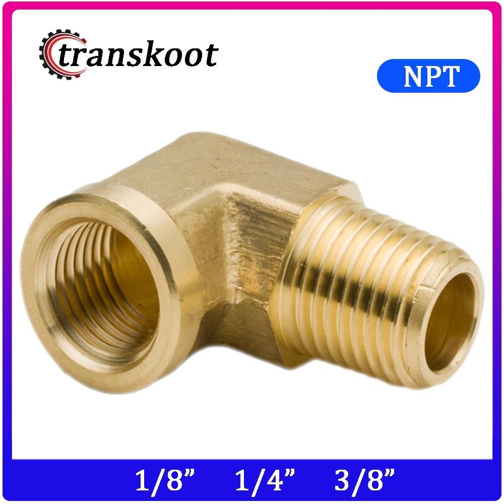 3//8 inch NPT Female Locknut 3//8 NPT Female Brass Pipe Fitting