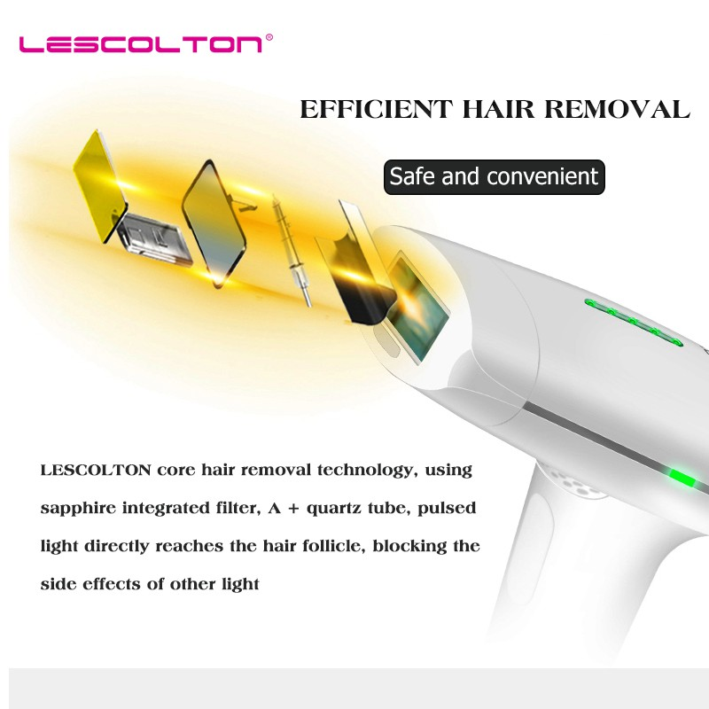 Image 4 - 700000 times Lescolton depiladora Laser Hair Removal Machine Laser Epilator Hair Removal Bikini Trimmer Electric epilator women-in Epilators from Home Appliances