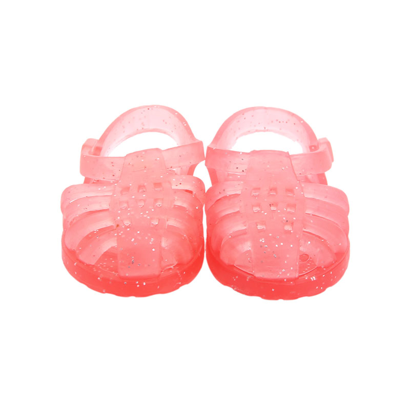 Princess Rose Crystal Sandals, Beautiful And Shiny Suitable 14.5 Inch Dolls, Generation, Gifts