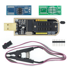 I21 CH341A 24 25 Series EEPROM Flash BIOS USB Programmer Module + SOIC8 SOP8 Test Clip For EEPROM 93CXX / 25CXX / 24CXX DIY KIT