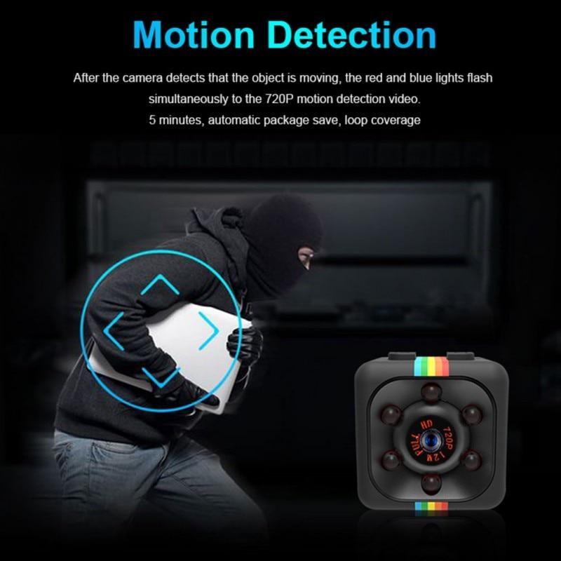 720P Sport DV Mini Infrared Night Vision Monitor Concealed Camera Car Digital Video Recorder