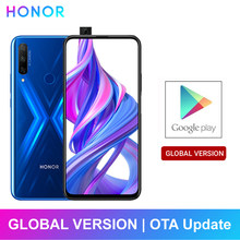 HONOR – smartphone 9X, Version globale, 4 go + 128 go, Triple caméra 48mp, batterie 4000mAh, 6.59 pouces, Octa Core, EMUI 9.0