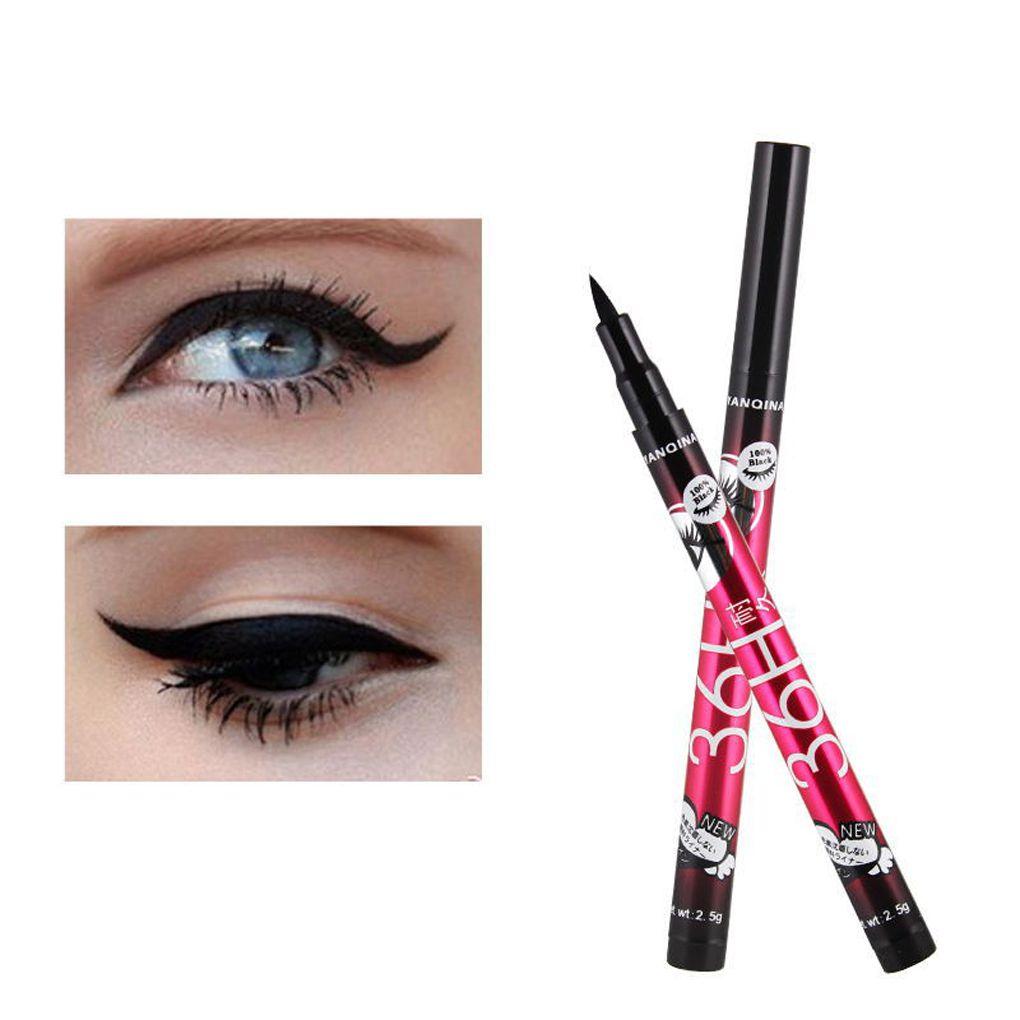 Eye Liner Water Proof Black Eyeliner Liquid Pen Smooth Anti Blooming Fast Dry