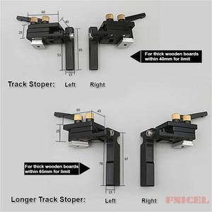 Image 5 - Limite de pista de parada de pista de mitra para t slot t tracks parar limitador de rampa localizador carpintaria diy ferramentas manuais