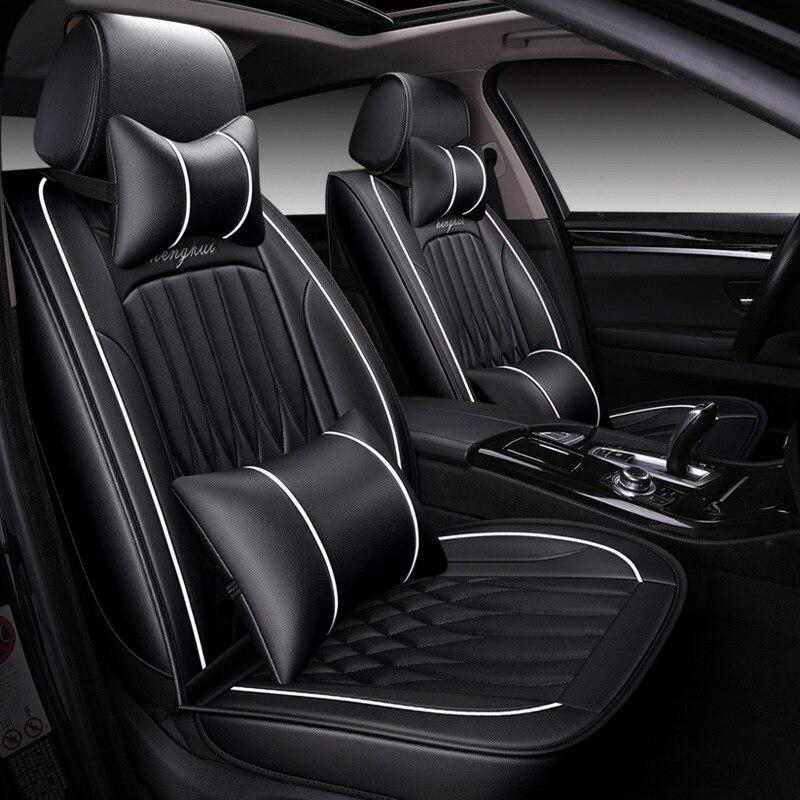 Высокое качество, кожаный чехол для автомобиля Geely Atlas Emgrand X7 EC7 GX FE1 mk, все модели, защита для автокресла, автомобильные аксессуары