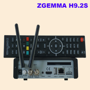 Image 5 - Yeni sürüm ZGEMMA H9.2S Linux OS Enigma2 dijital 4K UHD DVB S2 alıcısı 2000 DMIP e n e n e n e n e n e n e n e n e n e tuner uydu TV alıcı dekoder