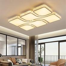 Светодиодный хрустальный потолочный светильник простой современный