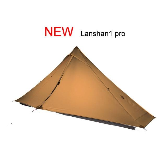 3F UL GEAR Lanshan 1 Pro Tent 1 Person Ultralight 20D tent 3