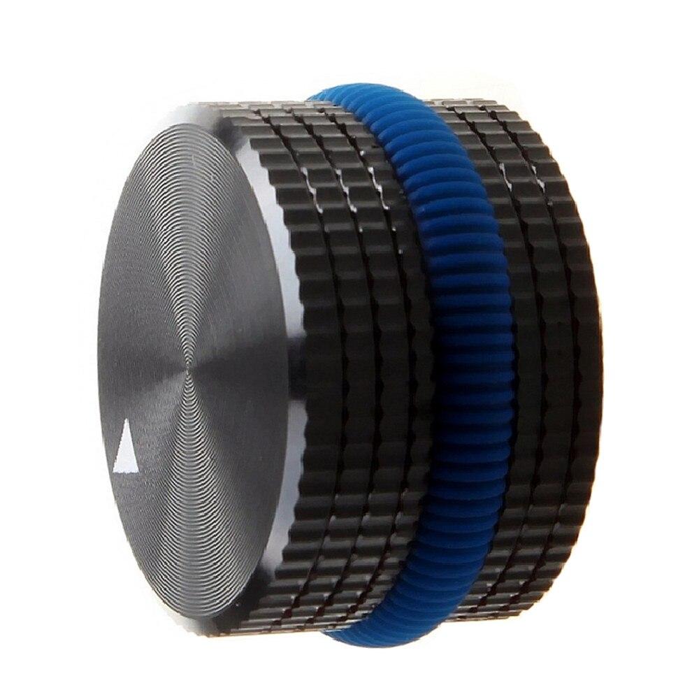 Solid Aluminum Power Amplifier Knob Potentiometer Encoder Knob Audio Volume Knob 25x15.5 Mm