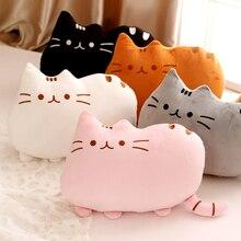 30x40 см мультяшная кошка плюшевые игрушки с большим лицом мягкие животные игрушечная кошка детские подушки игрушки Мультяшные плюшевые игрушки куклы для детей Подарки