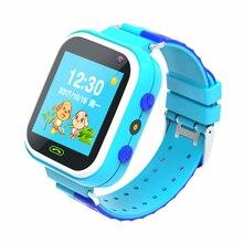 W14 Children Smart Watch Phone waterproof GSM Locator Flashlight with HD Camera Kids Anti-lost Smart Watch for Kids Gifts