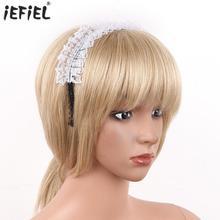 Maid Headband Anime-Accessories Cosplay Handmade Costume Hair-Hoop Birthday-Party-Headwear