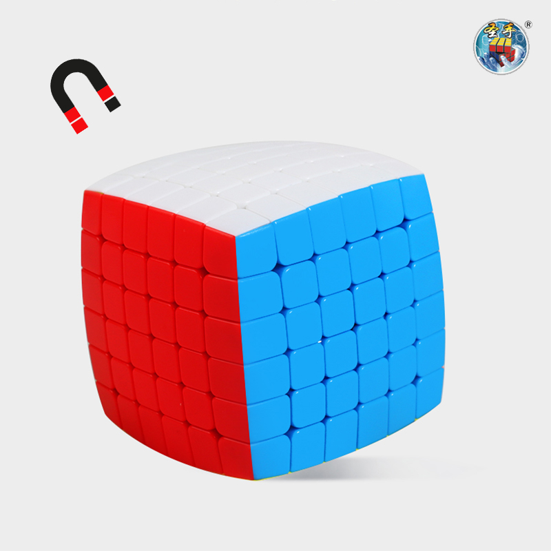 ShengShou Mr.M 6x6x6 Magnetic Cube Pillowed 6x6 Speed Cube SengSo Mr.M Magnetic Cubo Magico Puzzle Toys Gift For Children
