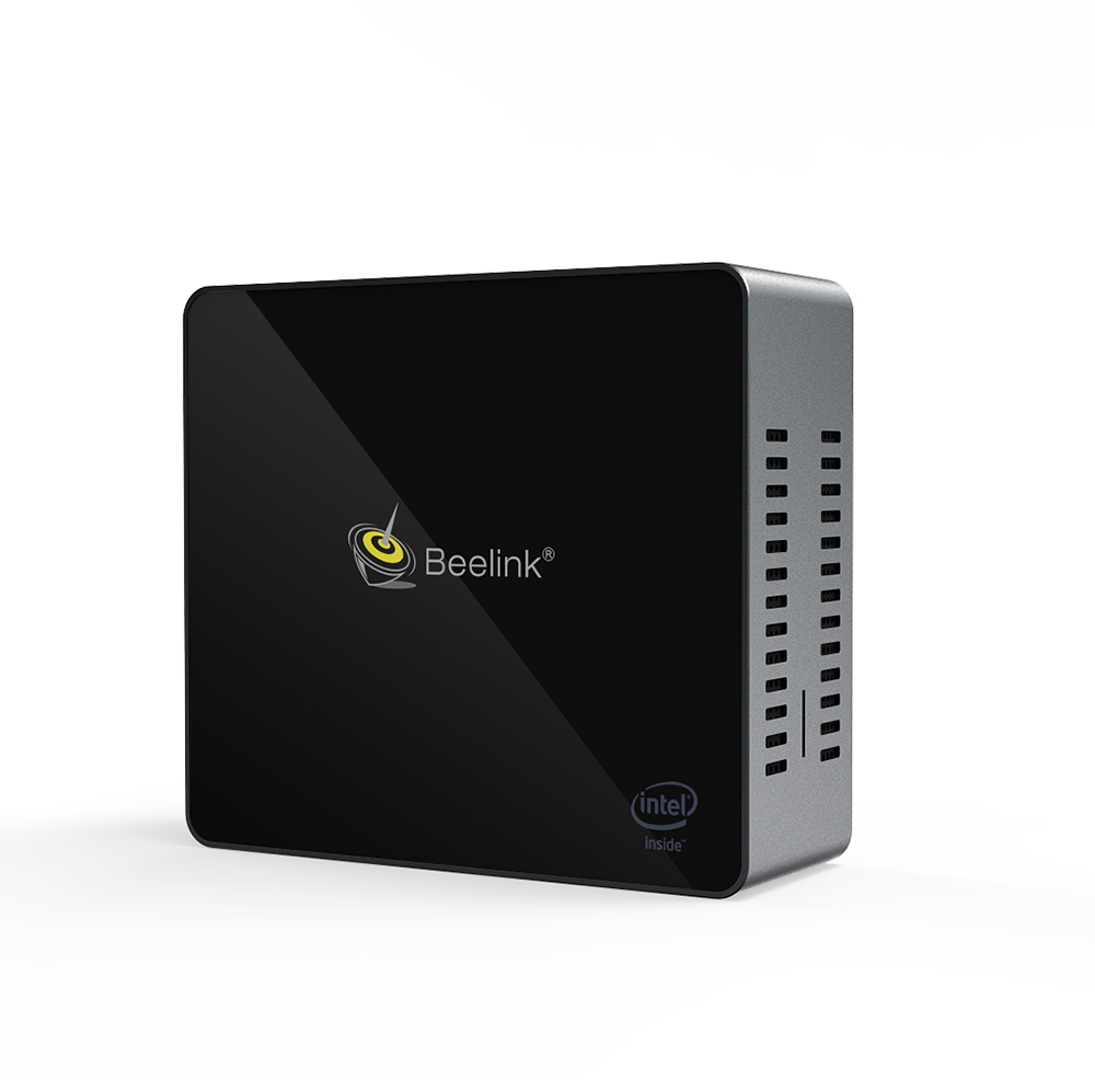 J45 Quad Core Mini PC Win10 Intel Pentium J4205 4GB RAM 128GB SSD Windows 10 Living Room 4K UHD HTPC Computer Dual HD-MI Output