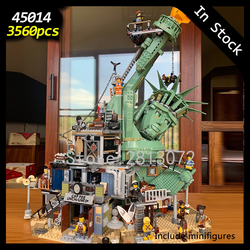 45014 Welcome to Apocalypseburg 3560Pcs Creator Movie 2 Model Building Blocks Compatible with <font><b>70840</b></font> Kids Education Toys image