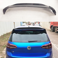 Aspec Style Carbon Fiber Rear Trunk Roof Lip Spoiler Wing for Volkswagen VW MK7 Rline GTI & R 2014 2018