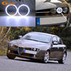Doskonałe 2 sztuk Ultra jasna żarówka COB led anioł oczy halo pierścienie światło do jazdy dziennej dla Alfa Romeo 159 2005 2006 2007 2008 2009 2010 2011 2012